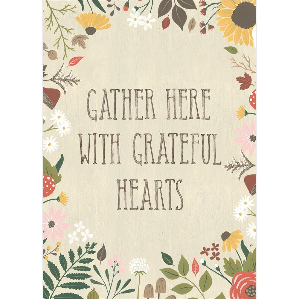 Gather Here Greeting Card