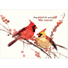 Load image into Gallery viewer, Peace Birds Greeting Card 4 Pack