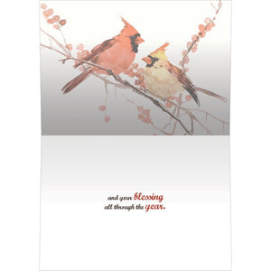 Peace Birds Greeting Card