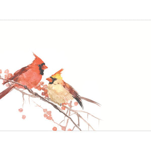 Peace Birds Greeting Card 4 Pack