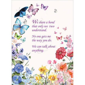Our Bond Mother's Day Greeting Card