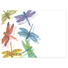 Load image into Gallery viewer, Dragonflies All Occasion Greeting Card 6 pack