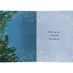 Load image into Gallery viewer, He Counts The Stars Bamboo Box 16 ct Christmas Greeting Card Set