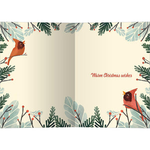 The Fruit Of The Spirit Bamboo Box 16 ct Christmas Greeting Card Set