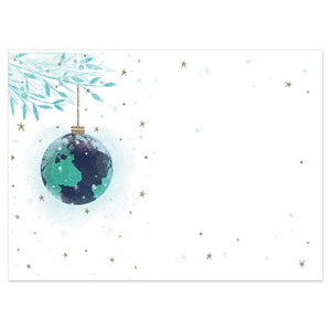 World Peace Bamboo Box 16 ct Holiday Greeting Card Set