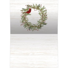 Load image into Gallery viewer, Home Christmas Bamboo Box 16 ct Holiday Greeting Card Set