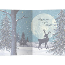 Load image into Gallery viewer, Solstice Wishes Bamboo Box 16 ct Solstice Greeting Card Set