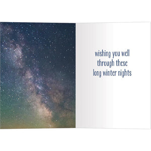 Loved The Stars Bamboo Box 16 ct Solstice Greeting Card Set