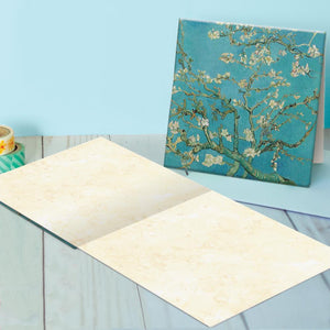 Classic Floral Blank Canvas Card Assorted 4 Pack