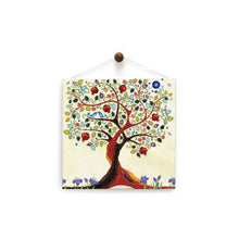 Load image into Gallery viewer, Inspiring Tree of Life  All Occasion Thumb-Tack Canvas Art Card