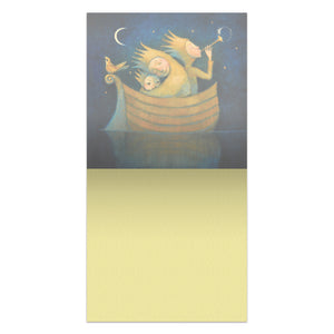 Sweetest Dreams  All Occasion Thumb-Tack Canvas Art Card