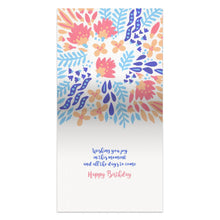Load image into Gallery viewer, Joy in the Journey  Birthday Thumb-Tack Canvas Art Card