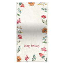 Load image into Gallery viewer, Today Choose Joy  Birthday Thumb-Tack Canvas Art Card