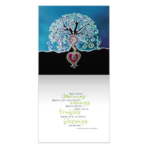 Wedding Blessing  Wedding Thumb-Tack Canvas Art Card 4 pack