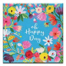 Load image into Gallery viewer, Happy Day Birthday Thumb-Tack Canvas Art Card