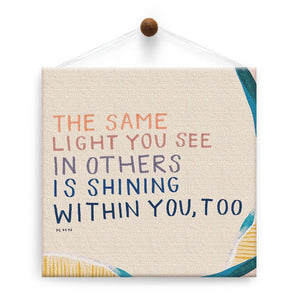 Shining Within Thumb-Tack Canvas Art Card 4 pack