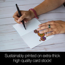 Load image into Gallery viewer, Gratitude Is The Open Door  All Occasion 4x6 Bamboo Box Notecard Sets