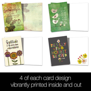 Be Kind All Occasion All Occasion 4x6 Bamboo Box Notecard Sets
