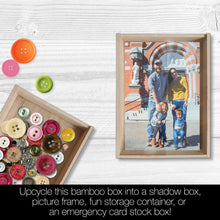 Load image into Gallery viewer, Be Kind All Occasion All Occasion 4x6 Bamboo Box Notecard Sets