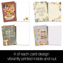 Load image into Gallery viewer, Thinking of You Autumn All Occasion 4x6 Bamboo Box Notecard Sets