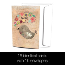 Load image into Gallery viewer, Good Morning All Occasion 4x6 Bamboo Box Notecard Sets