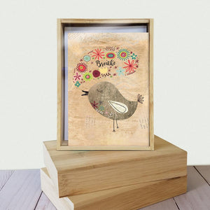 Good Morning All Occasion 4x6 Bamboo Box Notecard Sets