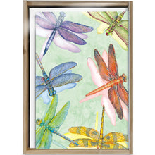 Load image into Gallery viewer, Dragonflies All Occasion 4x6 Bamboo Box Notecard Sets