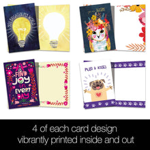 Load image into Gallery viewer, Brighten All Occasion 4x6 Bamboo Box Notecard Sets