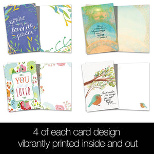 Blessings Quotes All Occasion 4x6 Bamboo Box Notecard Sets