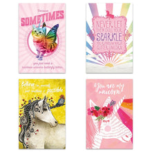 Load image into Gallery viewer, Rainbows and Unicorns 4x6 Blank Notecard  Assortment