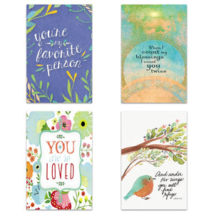Blessings Quotes 4x6 Blank Notecard  Assortment