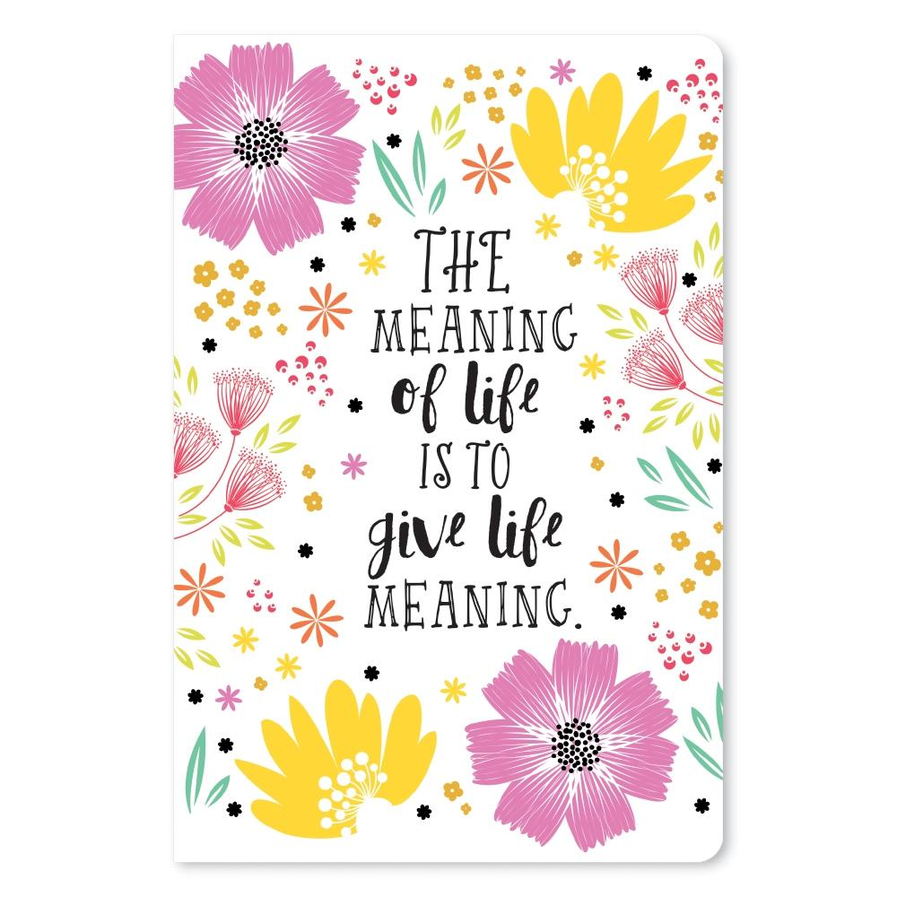 Meaning of Life Birthday ECOnote 4