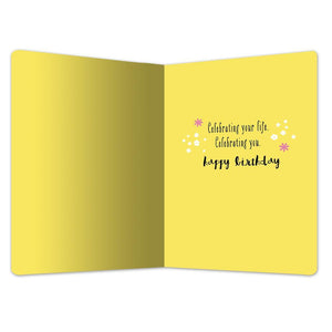 "Meaning of Life Birthday ECOnote 4""x6"" Greeting Card 8 pack"