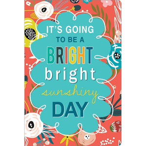 "Bright Sunshiny Day Birthday ECOnote 4""x6"" Greeting Card"