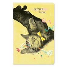 "Load image into Gallery viewer, Catnip Coma Birthday ECOnote 4""x6"" Greeting Card 8 pack"