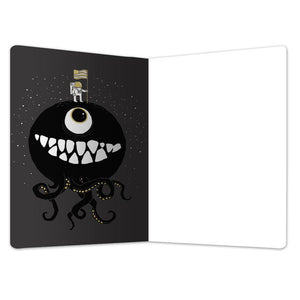 "Hungry Planet All Occasion ECOnote 4""x6"" Greeting Card"
