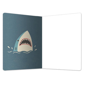 "Stay Jaw-Some All Occasion ECOnote 4""x6"" Greeting Card 8 pack"