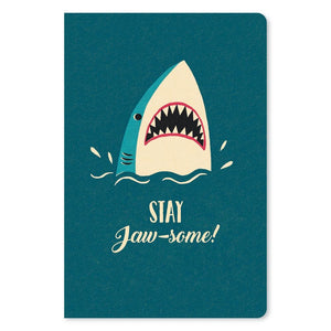 "Stay Jaw-Some All Occasion ECOnote 4""x6"" Greeting Card"