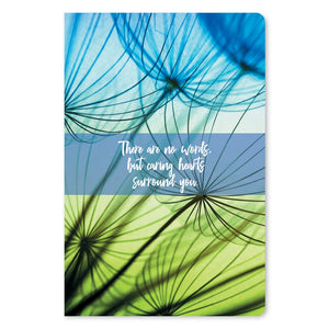 "Caring Hearts Surround You Sympathy ECOnote 4""x6"" Greeting Card 8 pack"