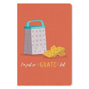 "Kinda Cheesy Thanks Thank You ECOnote 4""x6"" Greeting Card"