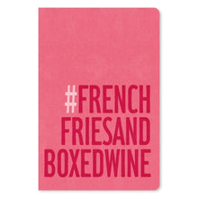 "Load image into Gallery viewer, French Fries and Boxed Wine Birthday ECOnote 4""x6"" Greeting Card 8 pack"