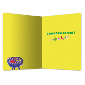 "Well Done Congratulations ECOnote 4""x6"" Greeting Card"