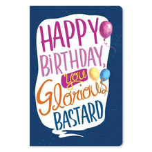 "Load image into Gallery viewer, Glorious Bastard Birthday ECOnote 4""x6"" Greeting Card"