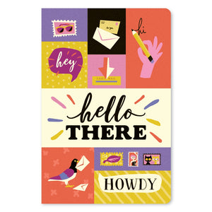"Hello There All Occasion ECOnote 4""x6"" Greeting Card 8 pack"
