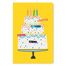 "Load image into Gallery viewer, Happy Wild Free Birthday ECOnote 4""x6"" Greeting Card 8 pack"