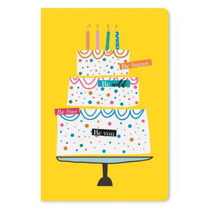 "Happy Wild Free Birthday ECOnote 4""x6"" Greeting Card 8 pack"
