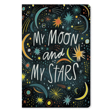 "Load image into Gallery viewer, My Moon My Stars Love ECOnote 4""x6"" Greeting Card 8 pack"