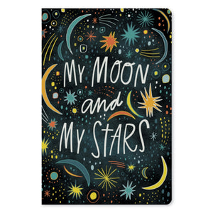 "My Moon My Stars Love ECOnote 4""x6"" Greeting Card 8 pack"