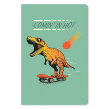 "Load image into Gallery viewer, Dino Skateboard Birthday ECOnote 4""x6"" Greeting Card"