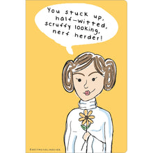 "Load image into Gallery viewer, Nerf Herder Congratulations ECOnote 4""x6"" Greeting Card 8 pack"